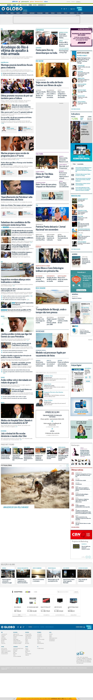 O Globo at Tuesday Sept. 16, 2014, 10:05 a.m. UTC