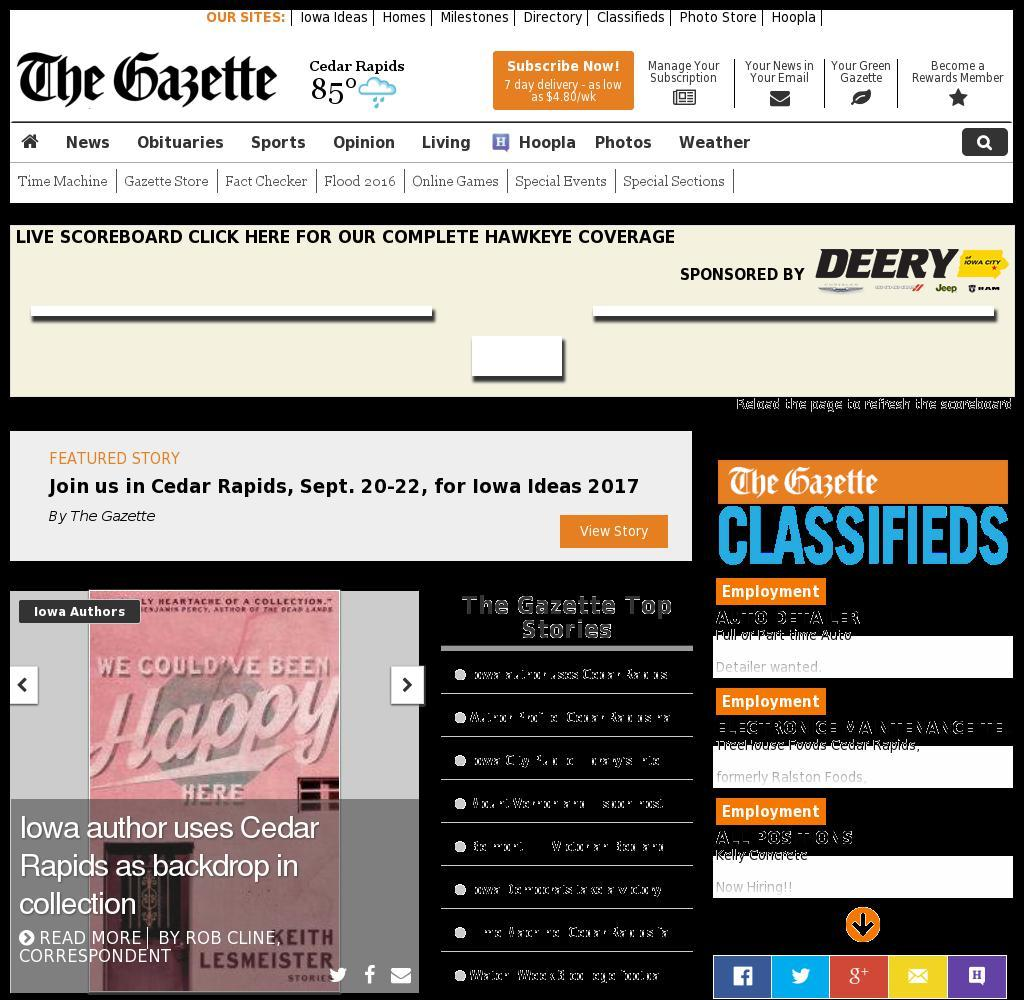 The (Cedar Rapids) Gazette