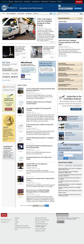 ProPublica at Wednesday May 2, 2012, 3:10 p.m. UTC