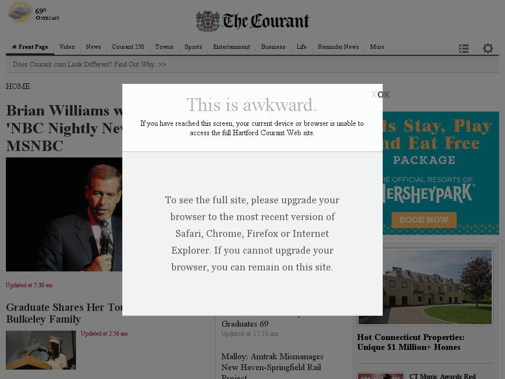 Hartford Courant at Thursday June 18, 2015, 3:12 p.m. UTC