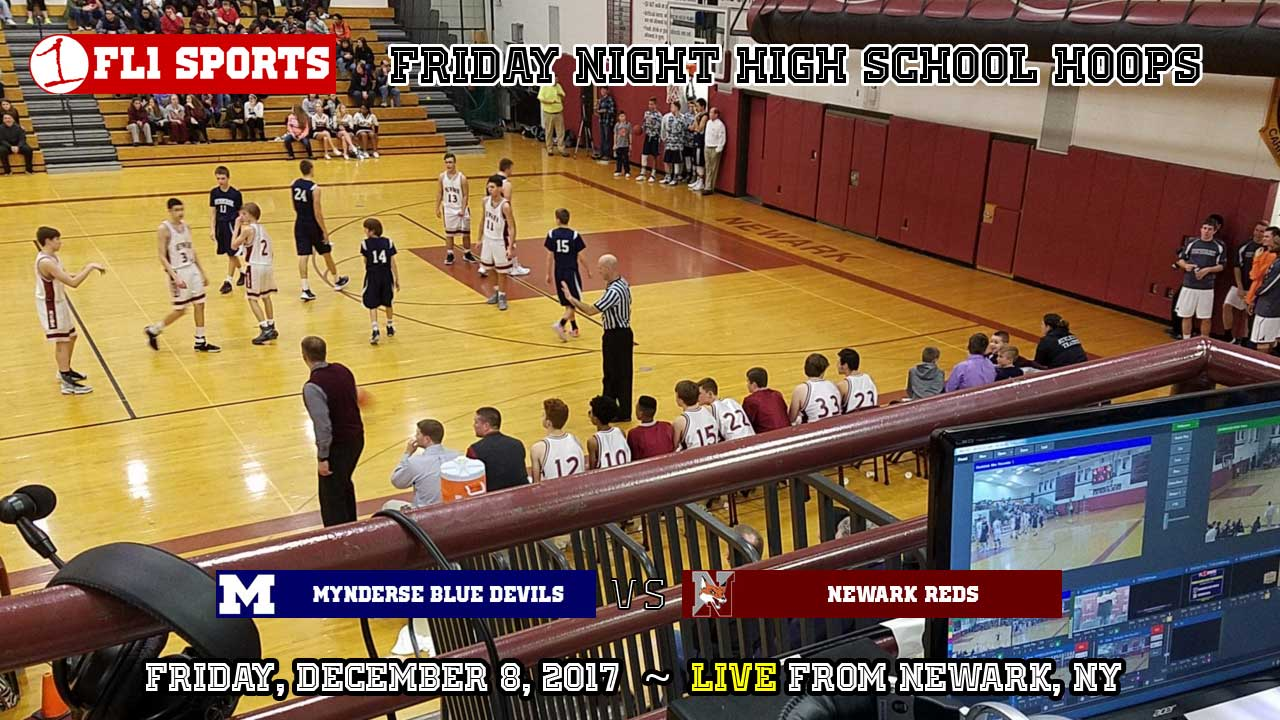 WEBCAST REPLAY: Sectional title game rematch as #2 Mynderse battles #3 Newark on FL1 Sports