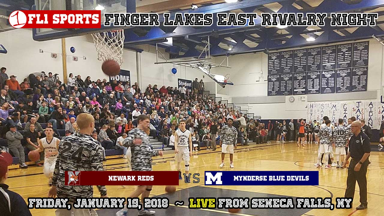 WEBCAST REPLAY: #8 Newark and #2 Mynderse square off at Arthur L. Baker on FL1 Sports
